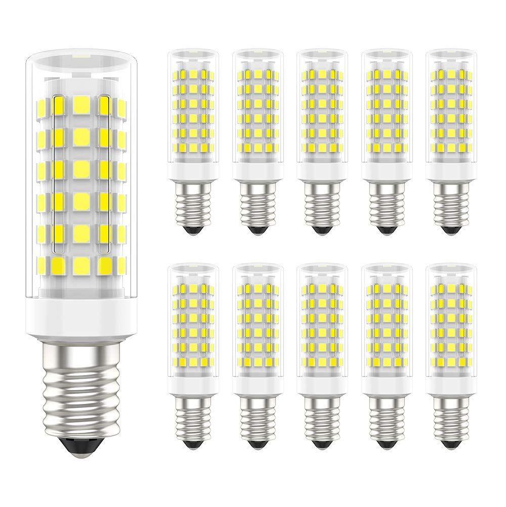 10 Pack 9w E14 Led Lampe 700 Lumen 70 Watt Gl Hlampe Quivalent 6000k Kaltwei E14 Led Leuchtmittel 360 Abstrahlwinke In 2020 Led Leuchtmittel Leuchtmittel Led Lampe