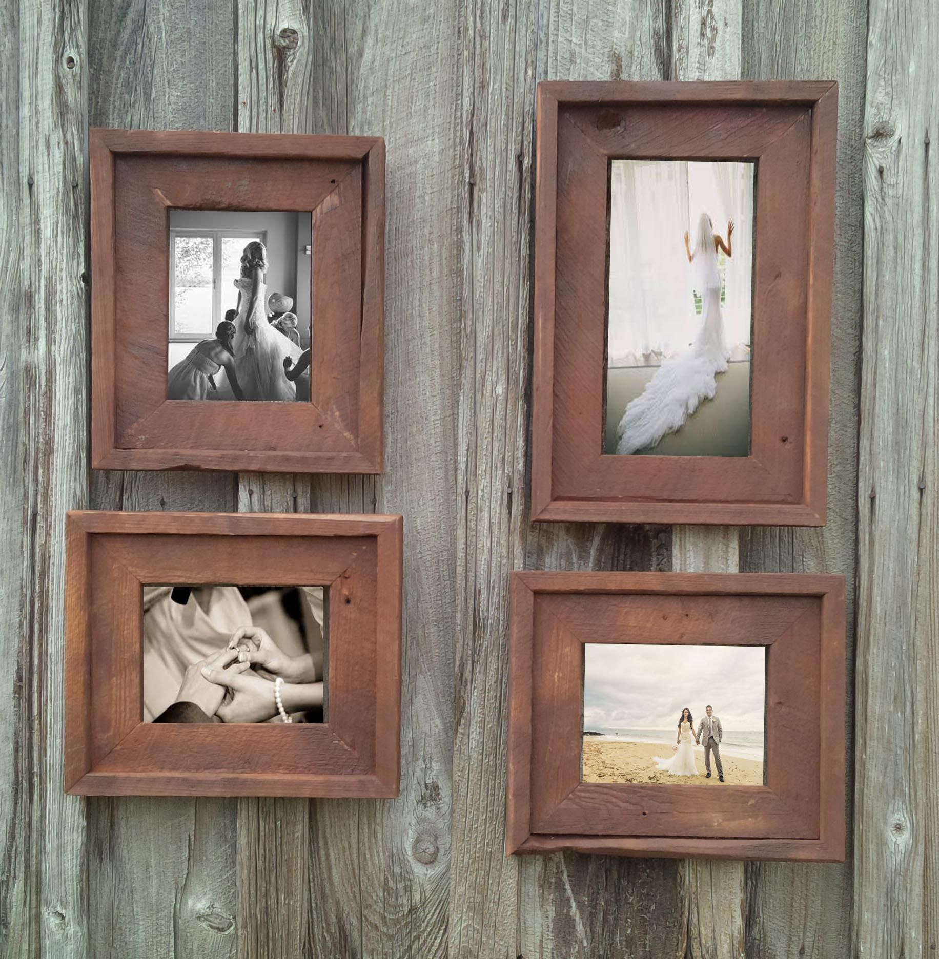 barn wood picture frames. Gallery Wall - The Loft Signature Quality Handmade Rustic Barn Wood Picture Frames Www.TheLoftBarnWoodFrame