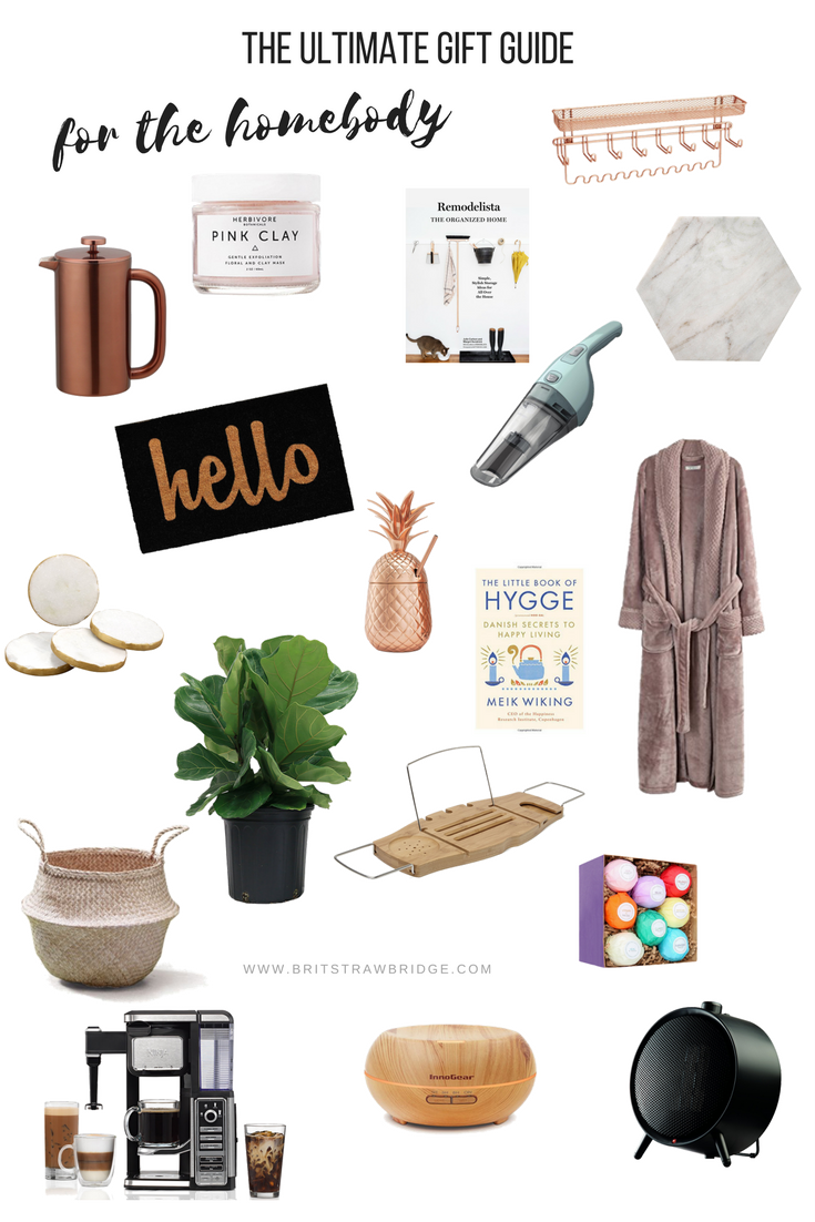 The Ultimate Holiday Gift Guide For The Homebody The Ultimate Holiday Gift Guide Foodie Gift Ideas Diyer Gift Ide Handyman Gifts Gift Guide Hygge Gifts