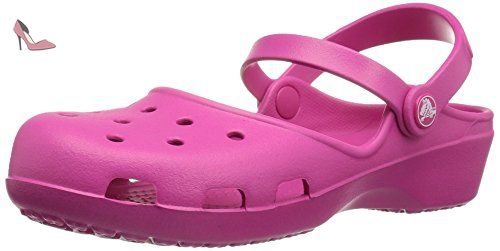Crocband Flip, Mixte Adulte Sandales, Rouge (Pepper/White), 36-37 EUCrocs