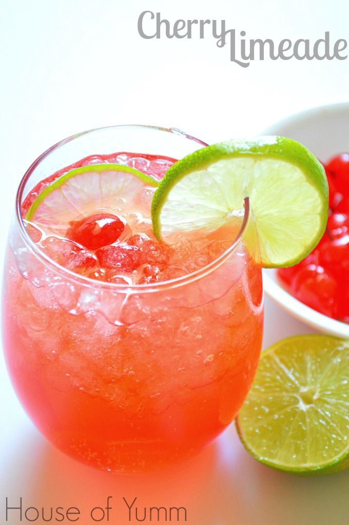 75 refreshing non alcoholic drink recipes cherries for Refreshing drink recipes non alcoholic