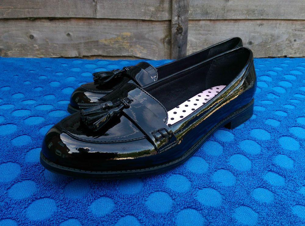 School shoes, Black patent leather, Shoes