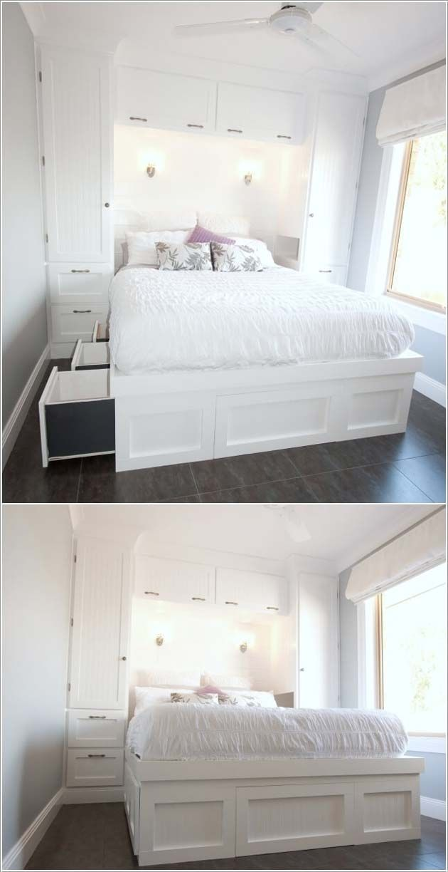 31 Small Space Ideas To Maximize Your Tiny Bedroom Small Room