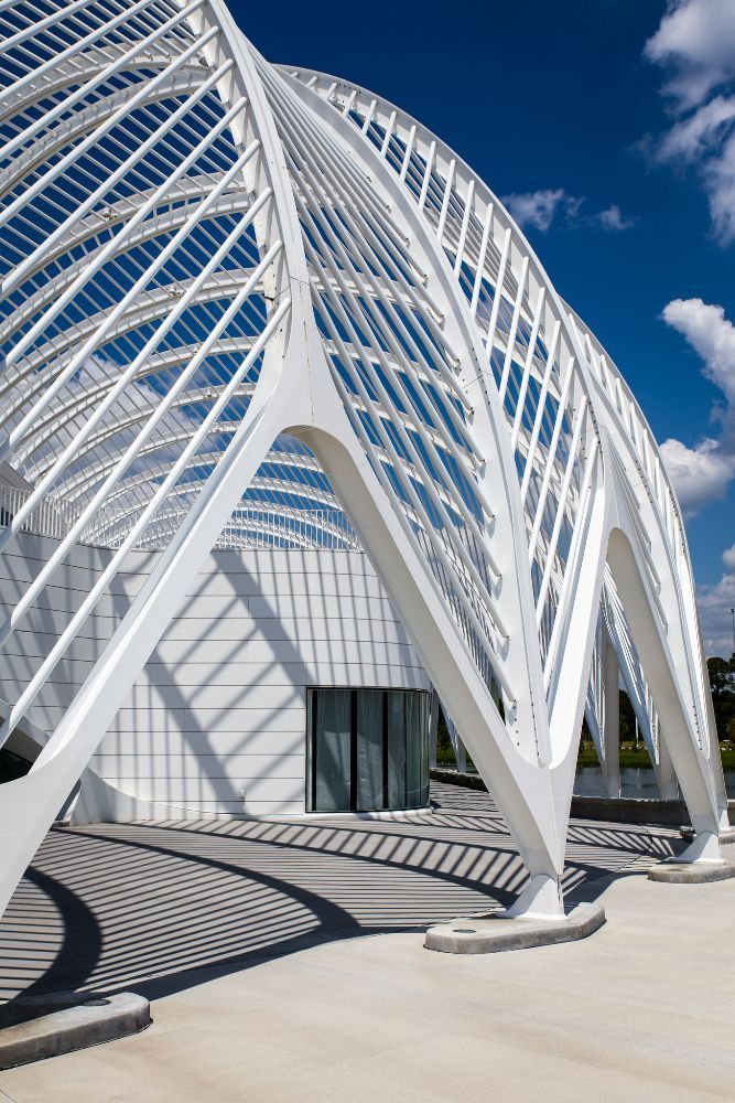 Top Architects roof Santiago calatrava, University