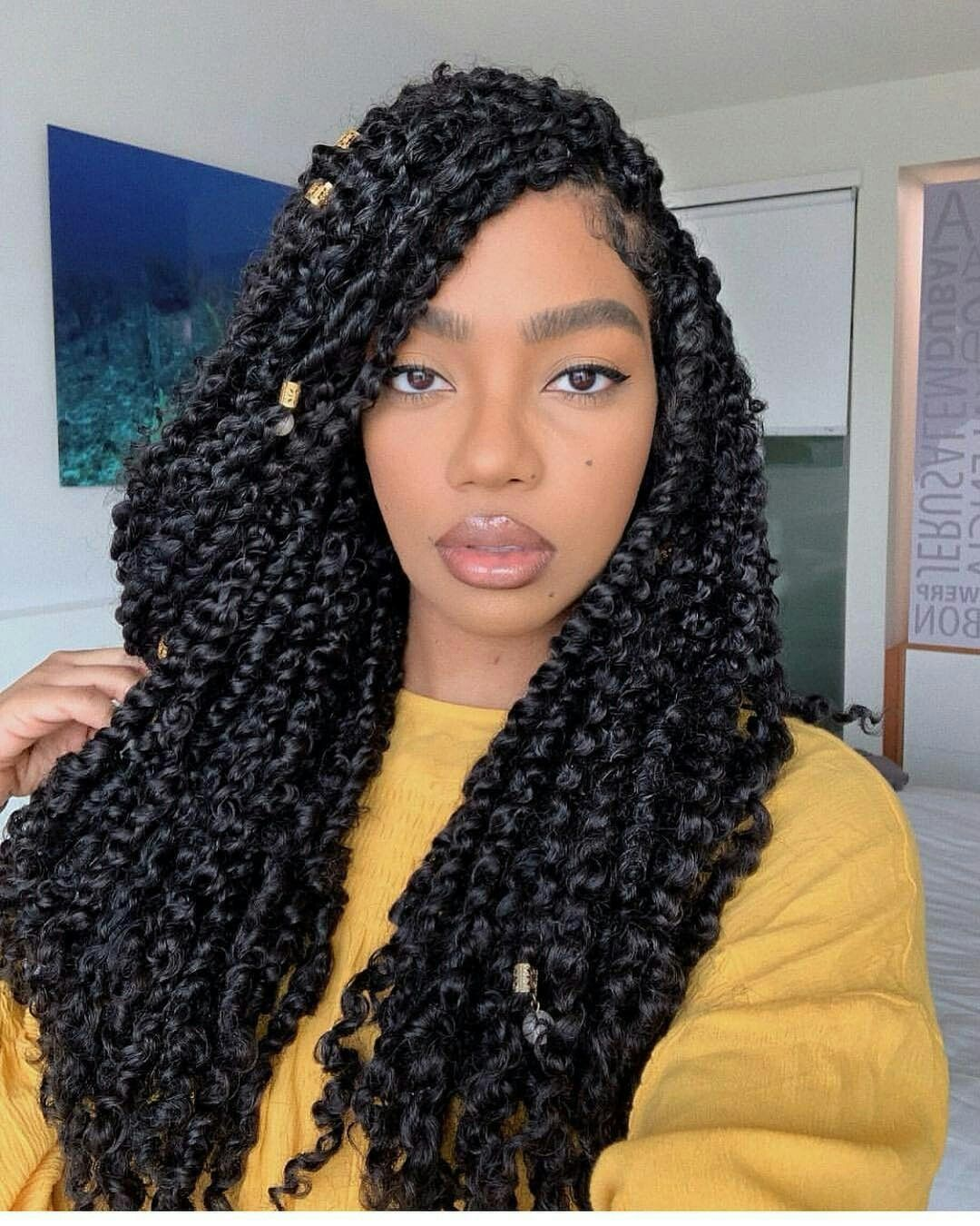 Passion Twists Natural Hair Styles Braided Hairstyles Twist Hairstyles