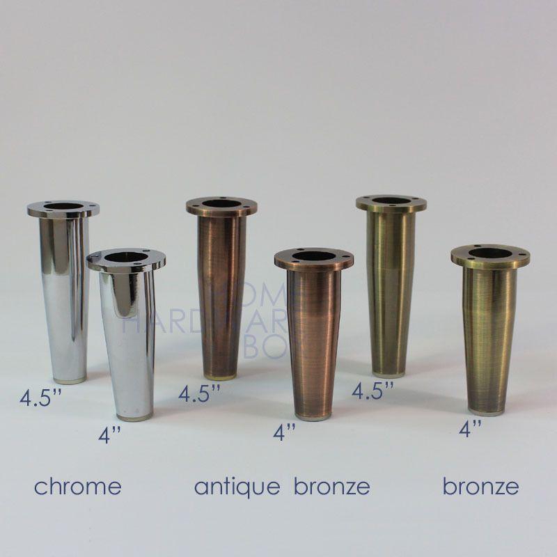Metal furniture legs cabinet stand zinc alloy round feet chrome metal furniture legs cabinet stand zinc alloy round feet chrome bronze antique keyboard keysfo Gallery