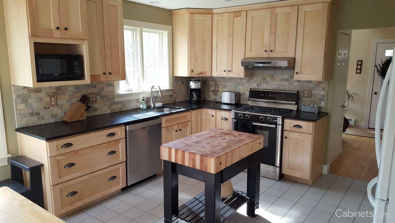 Shaker II Maple Natural   Kitchen renovation, New kitchen ...