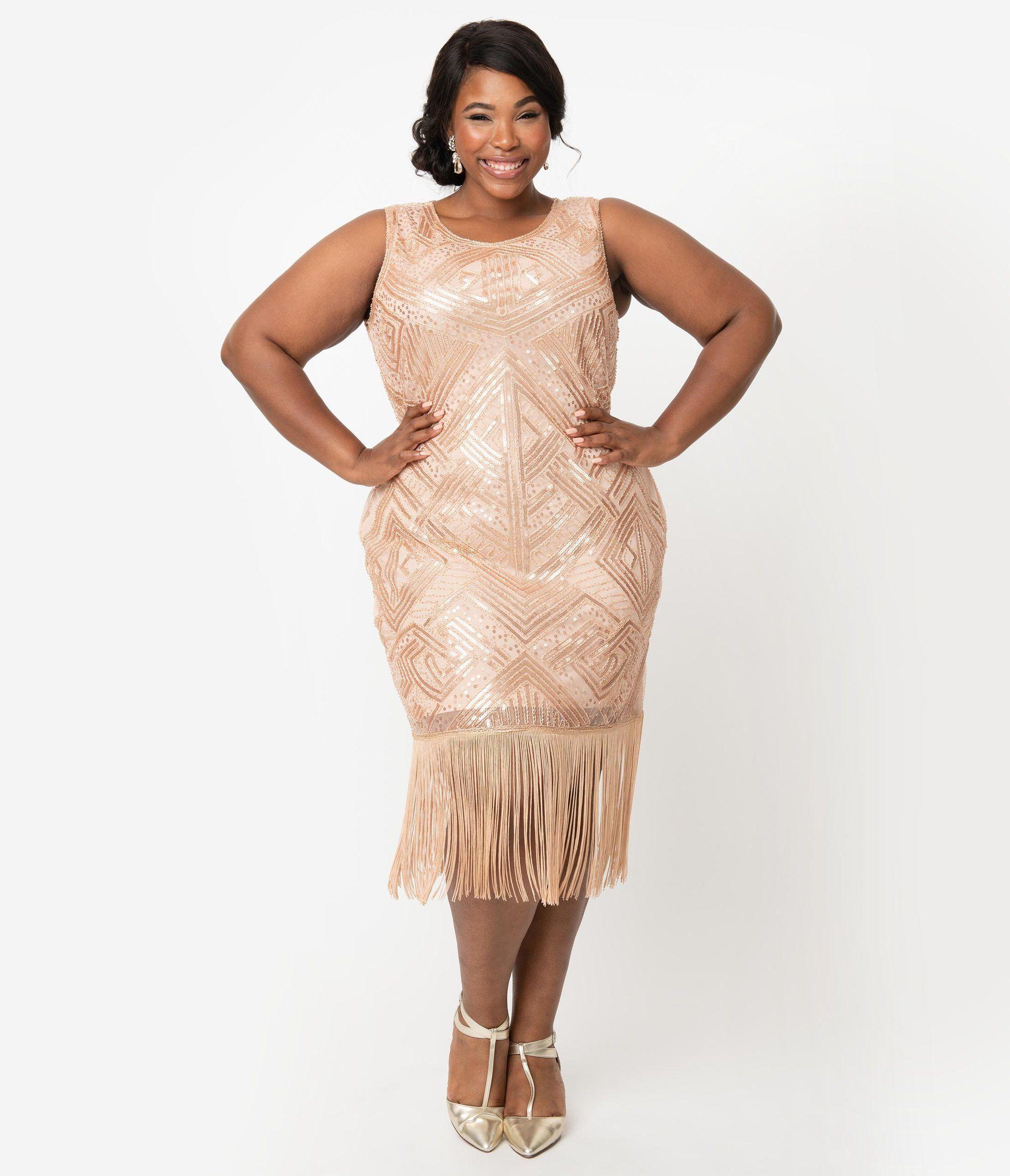 The Flapper Shop Plus Size Vintage Dresses Flapper Style Wedding Dress Plus Size Flapper Dress [ 2385 x 2048 Pixel ]