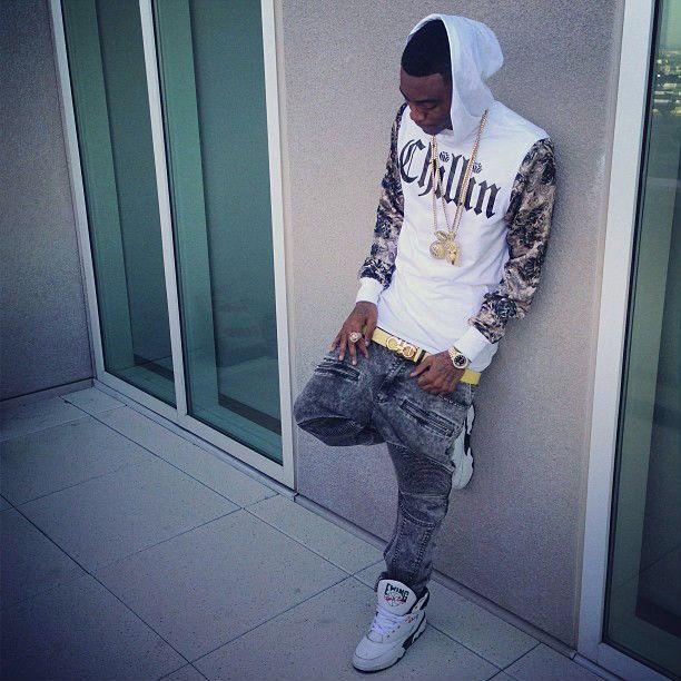 fb25510cd Soulja Boy wearing Ewing 33 Hi sneakers
