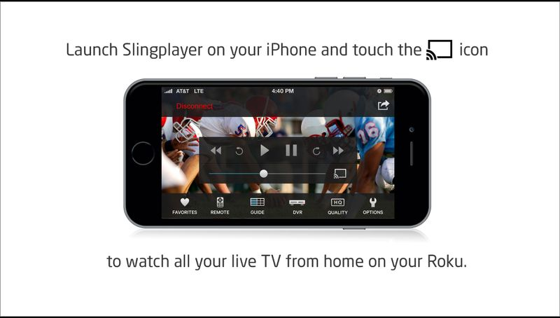 SlingPlayer for Roku Apps Roku Channel Store (With