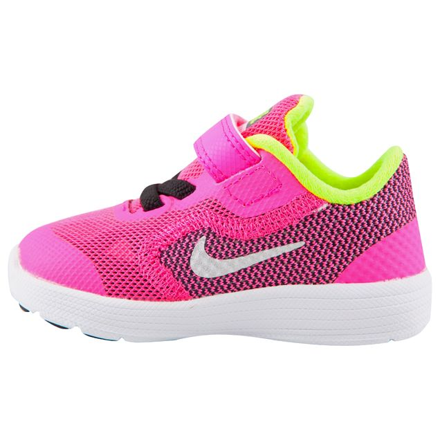 super popular e6efc 72afe ... cheap nike revolution 3 infant girls trainer pink elverys site 6578e  42af5