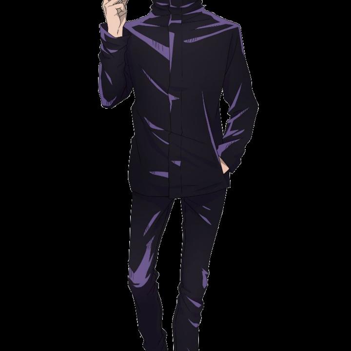 Satoru Gojo Jujutsu Kaisen Wiki Fandom Jujutsu Tall Guys Silhouette