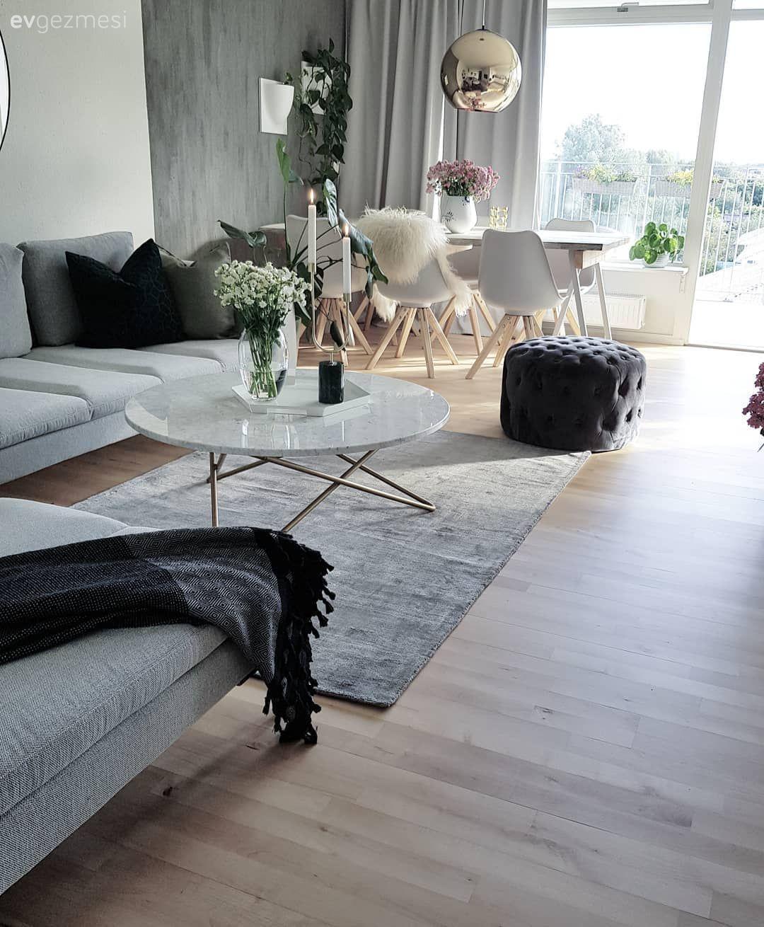 Cekici Keyifli Iskandinav Stilde Bir Ev Ev Gezmesi Ikea Oturma Odasi Oturma Odasi Dekorasyonu Mobilya Fikirleri