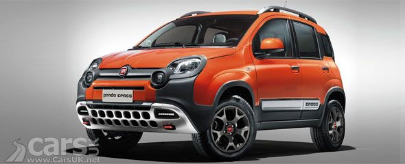 New Fiat Panda Cross Is A Rugged Panda 4x4 Baby Suv Fiat Panda