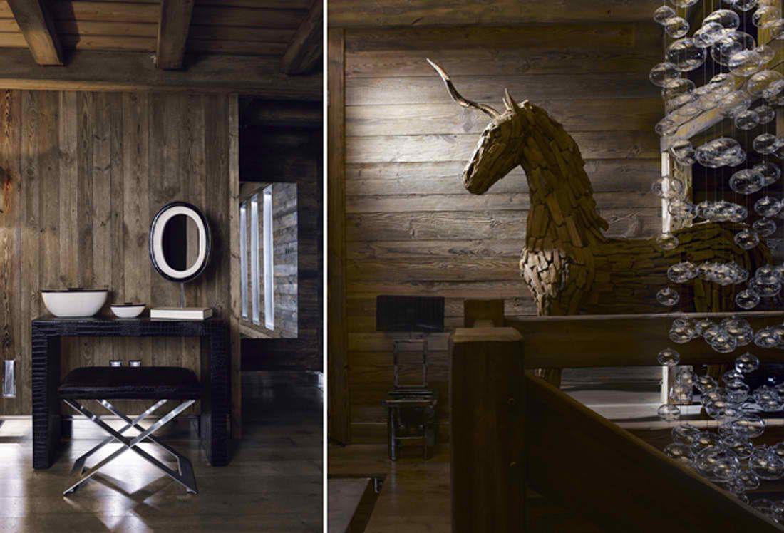 Luxury Chalet Brickell In Megève, Alpes Home Design Ideas