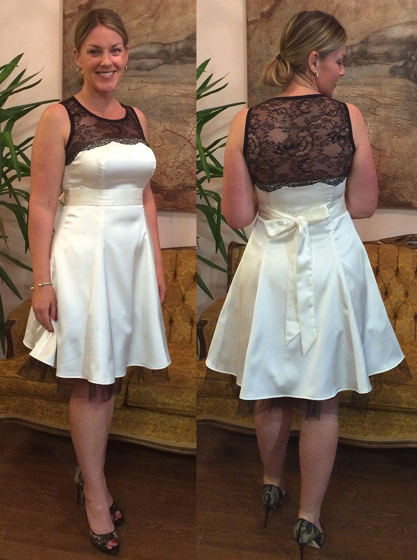 Custom Shelley Klassen Wedding Reception Dress