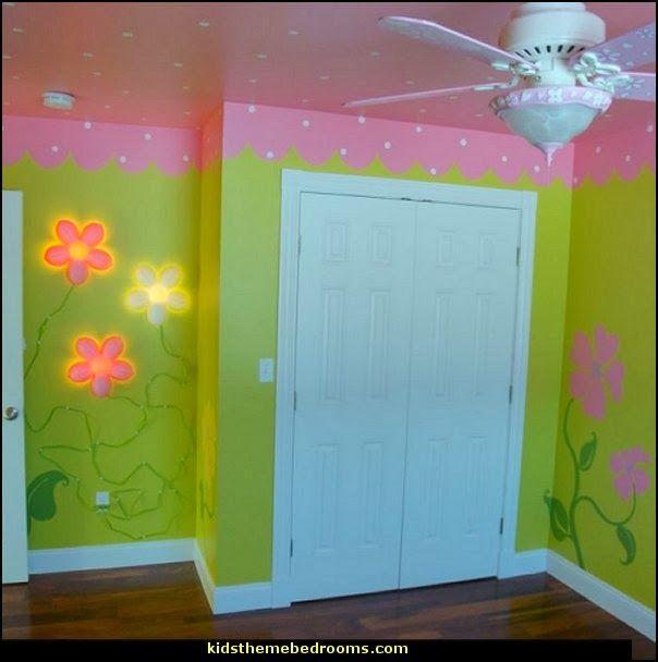 High Quality IKEA SMILA BLOMMA FLOWER WALL LAMPS Garden Theme Bedroom Wall Design Ideas Home Design Ideas