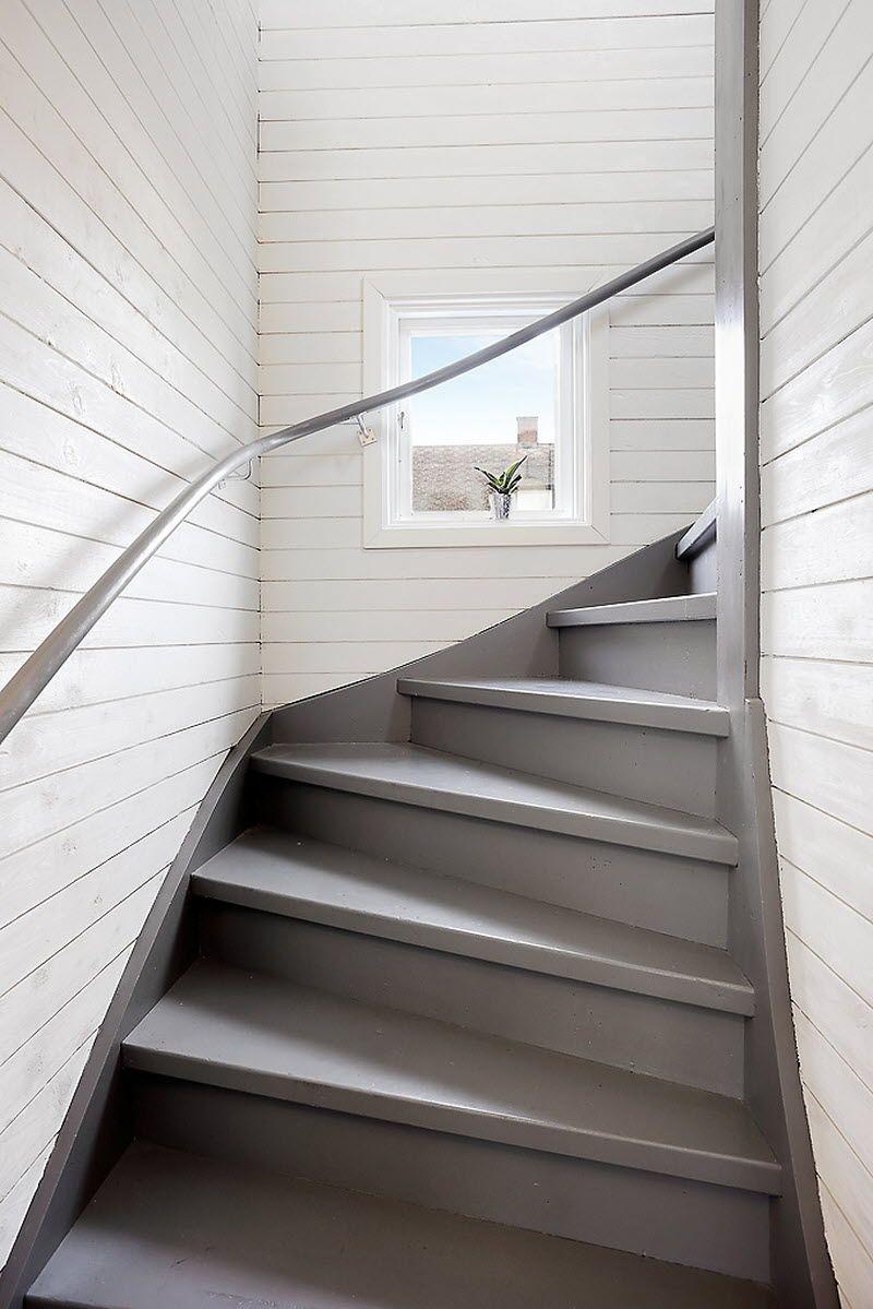 Färgen på trappan