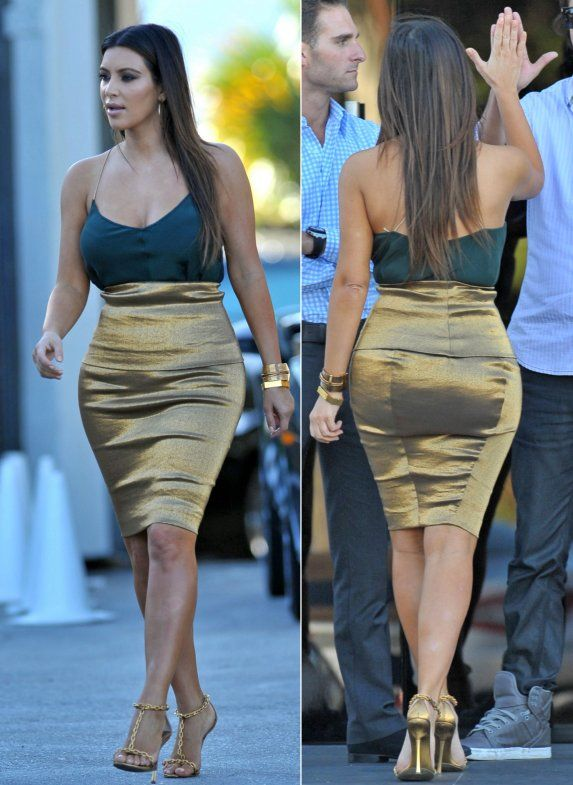 kim kardashian casual look 2012