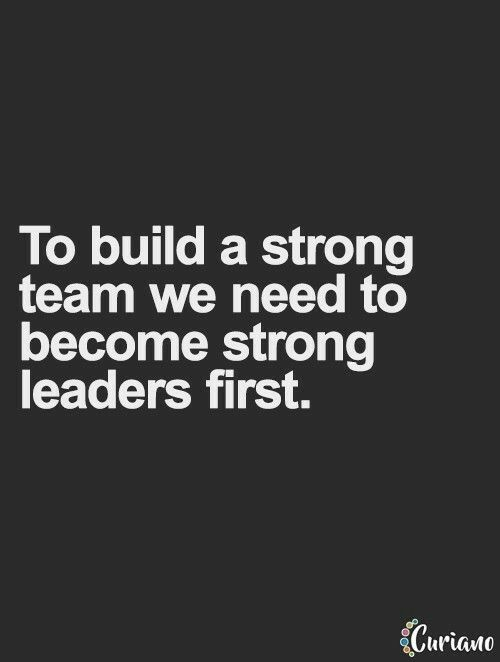 First, Become Strong Leaders ! | Leadership | Motivational quotes