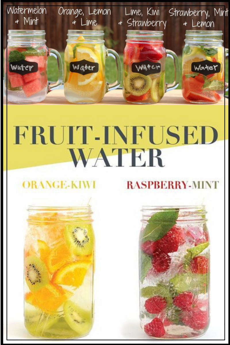 Infused Water Recipes and Benefits - How To Make Fruit Infused Water - Clever DIY Ideas