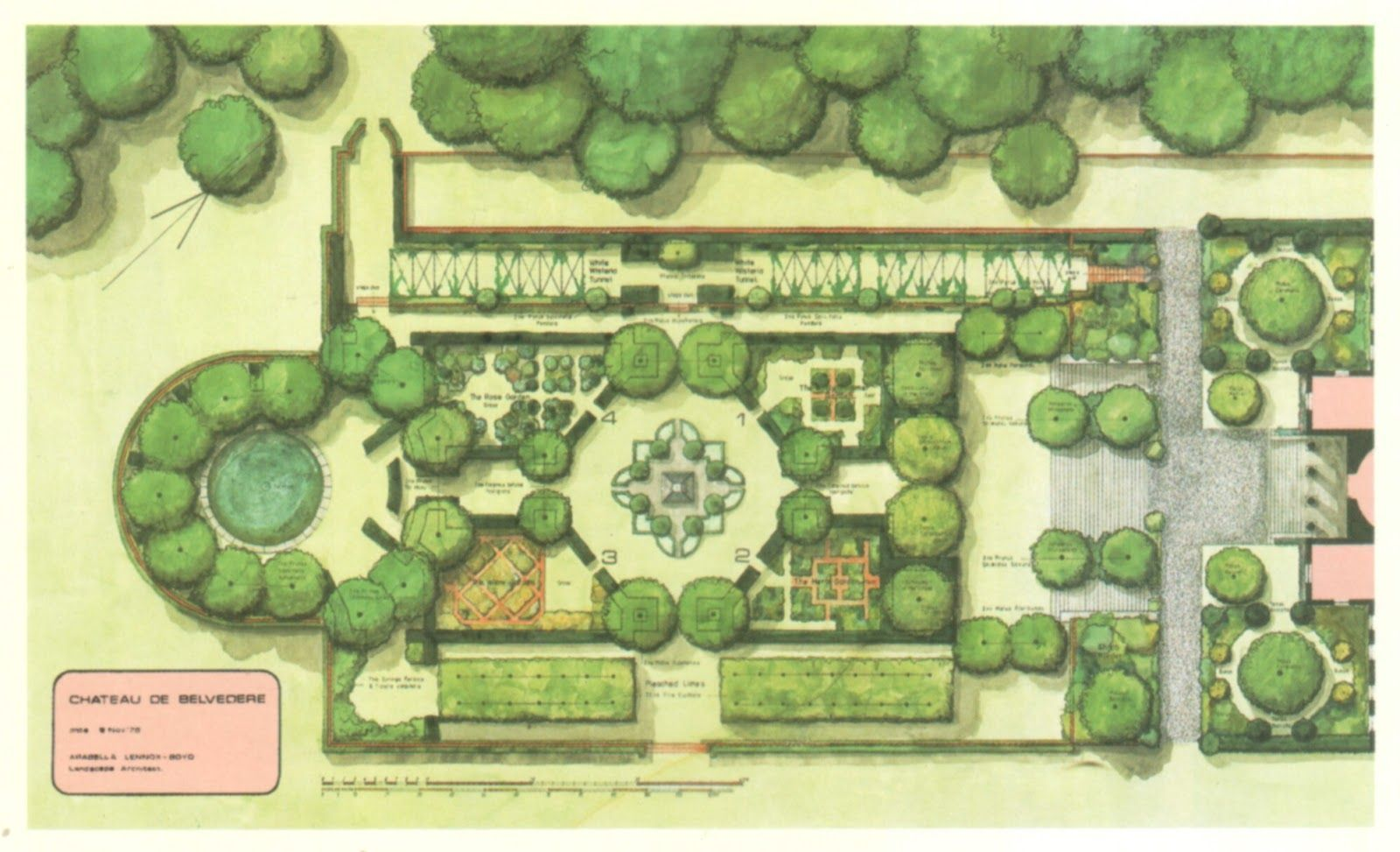 By The End Of The 18th Century The English Garden Was Being