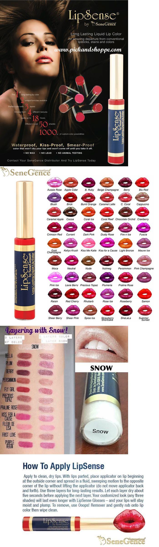 Beauty Makeup: Lipsense Lipstick By Senegence Long Lasting Liquid Lip Colors * Free Shipping! BUY IT NOW ONLY: $33.99