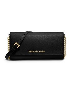 83af029c32d4 MICHAEL Michael Kors Jet Set Travel Wallet On A Chain (Store Style Number:  32F4GTVC9L