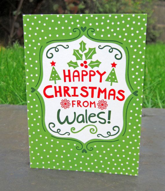 Welsh christmas card by welshoriginals on etsy occasion cards welsh christmas card by welshoriginals on etsy m4hsunfo