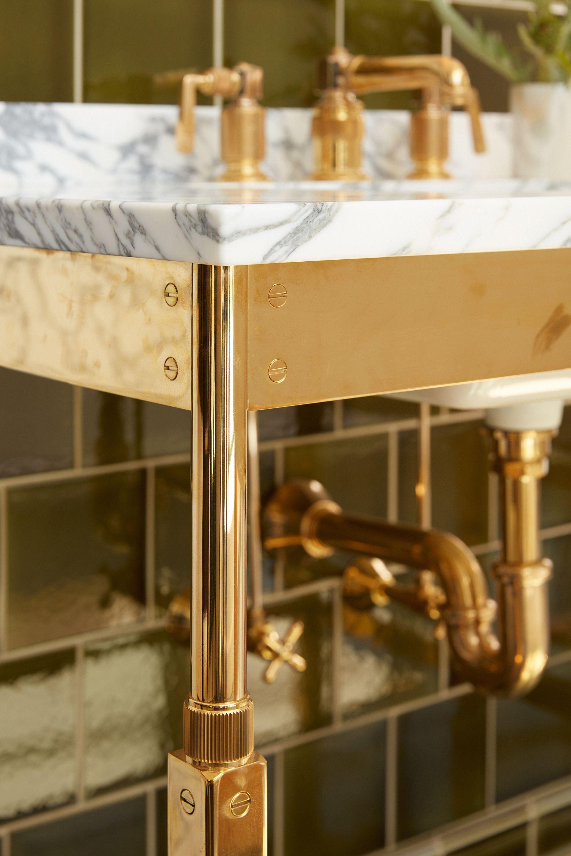 r w atlas metal two leg single washstand bath furniture fixtures rh pinterest com