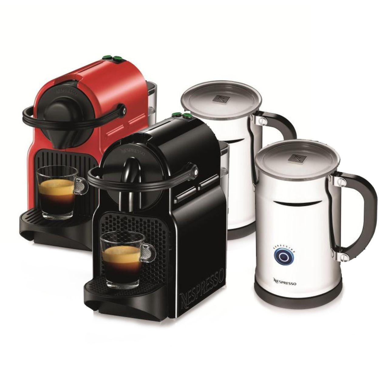 Nespresso Inissia Espresso Machine with Aeroccino Milk Frother | Sur La Table