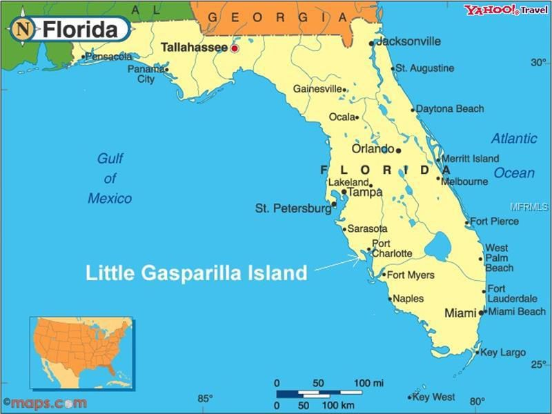 Little Gasparilla Island Map 2/1 Beach Cottage w Fantastic Gulf Views. Come kick off y… | Beach