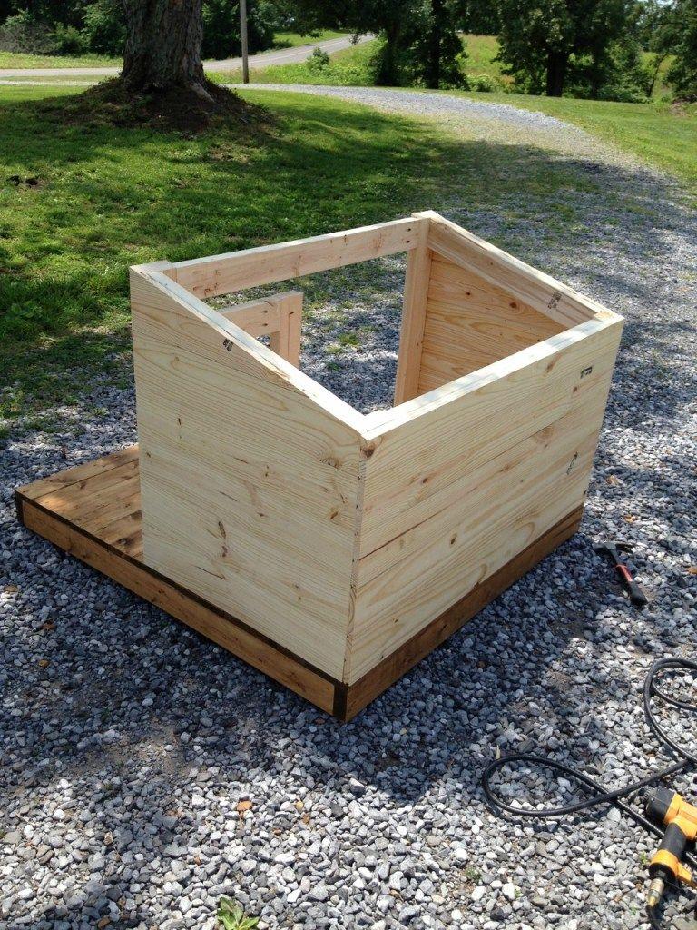 A new home for lucymodern diy dog house dog house