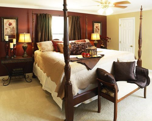 Best Classic Burgundy Bedroom Style Bedroom Paint Colors 400 x 300