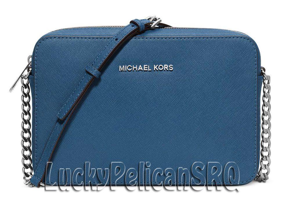 Michael Kors Jet Set Travel Large Crossbody Messenger Bag