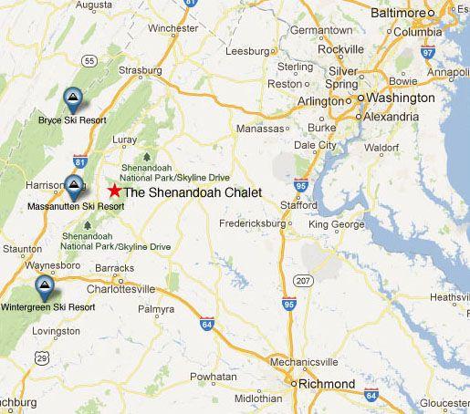Shenandoah National Park Virginia Map Google Search Virginia