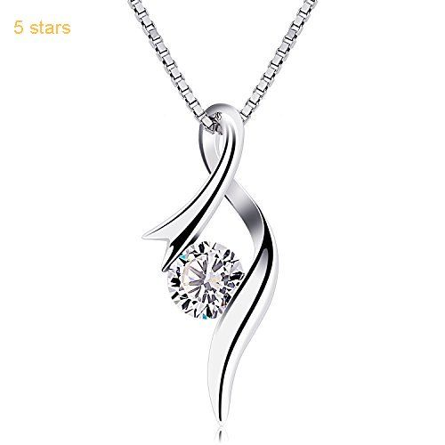 925 Sterling Silver High Quality Anti-allergic Gift Dolphin Pendant Necklace
