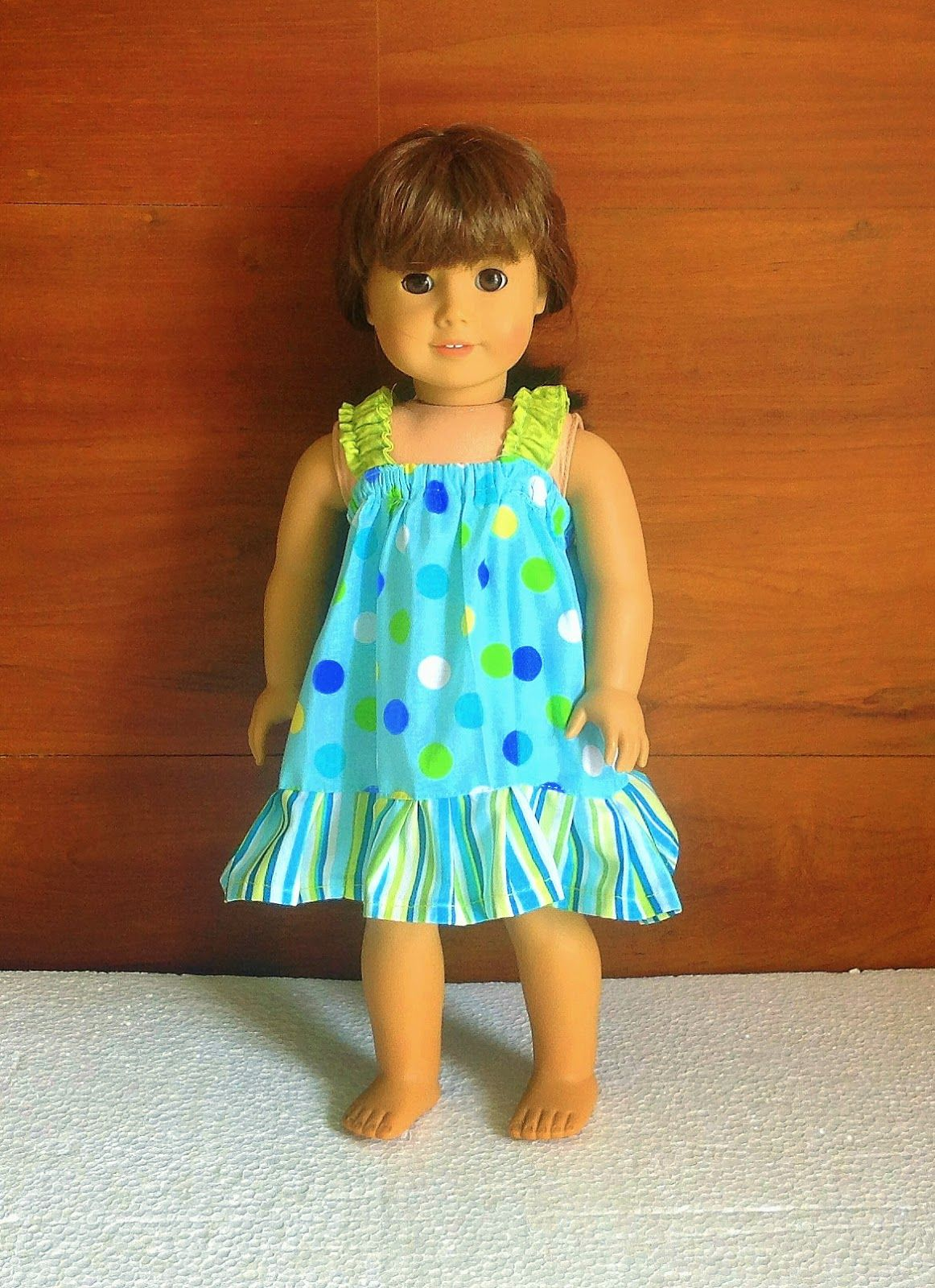 Easy Sundress Sewing Pattern for American Dolls. Sewing Pattern ...