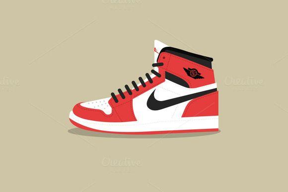 low priced f6e68 84bdc Sneakons - Air Jordan 1 by Kwaku Amuti on  creativemarket