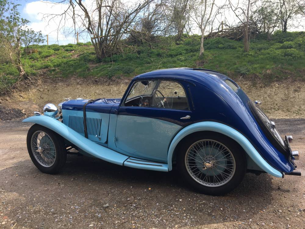 1934 MG PA Airline Coupe :: Vintage and Classic Cars Sold :: Robin Lawton
