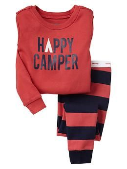 6cd11bb9f781 Happy camper sleep set Would it be silly to buy new PJs for the kids ...
