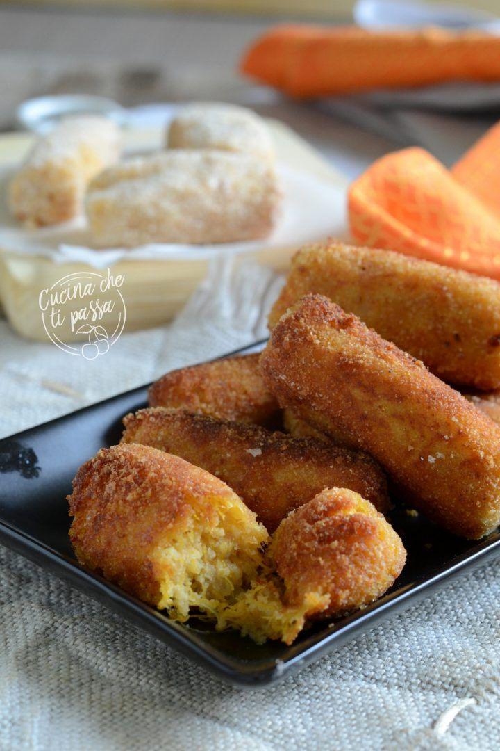 Crocchette di zucca e patate un sfizioso antipasto for Cucinare vegano