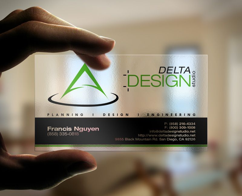 Delta Design Studio Business Cards | Photography | Pinterest ...