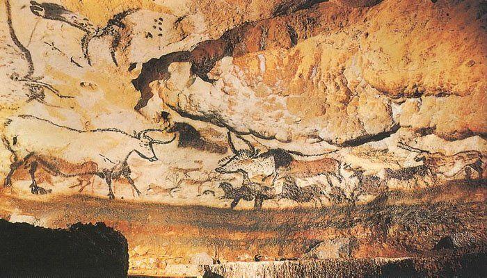 Caveman Paintings France : Cave paintings lascaux france