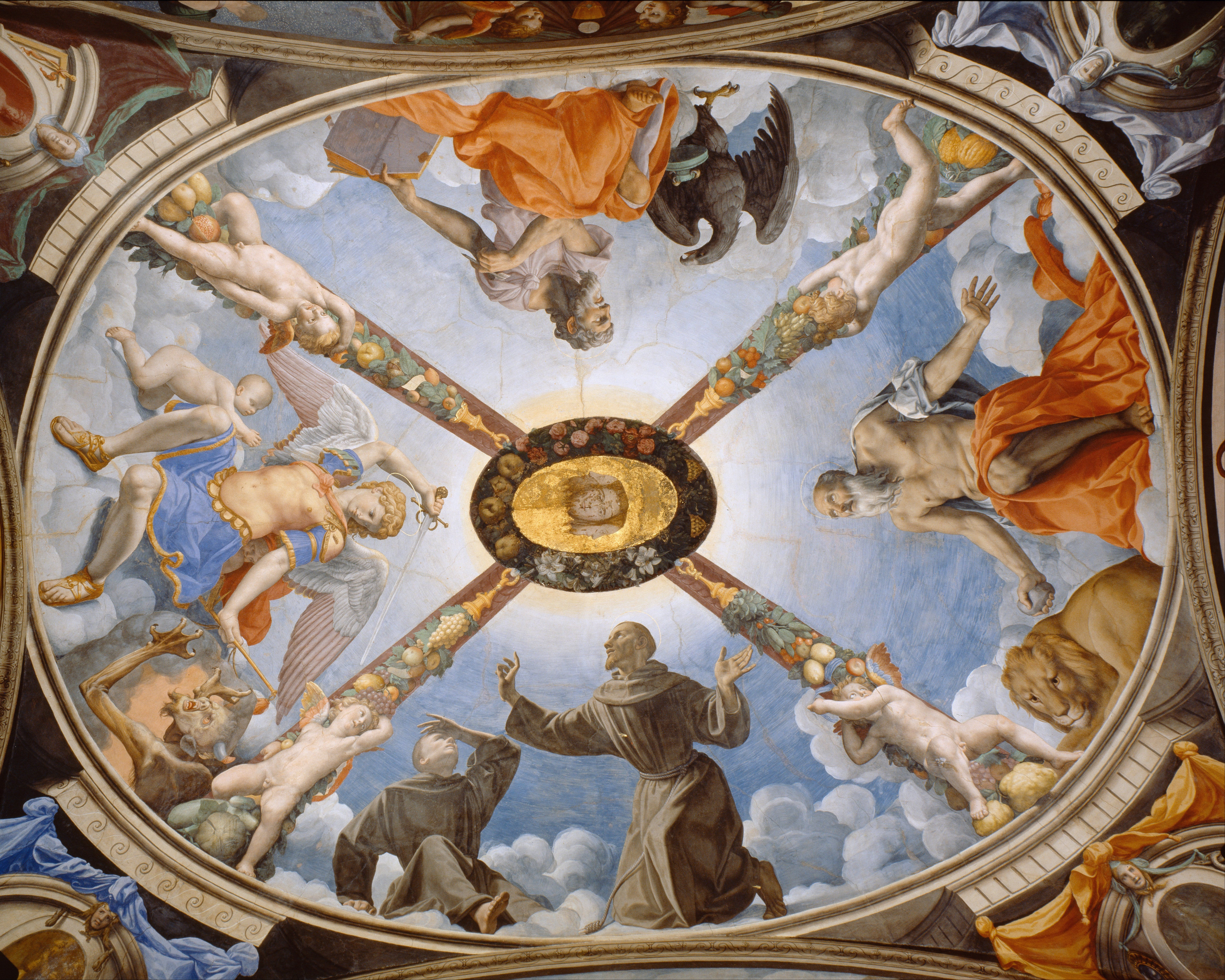 152 best Domes images on Pinterest Painted ceilings Ceilings
