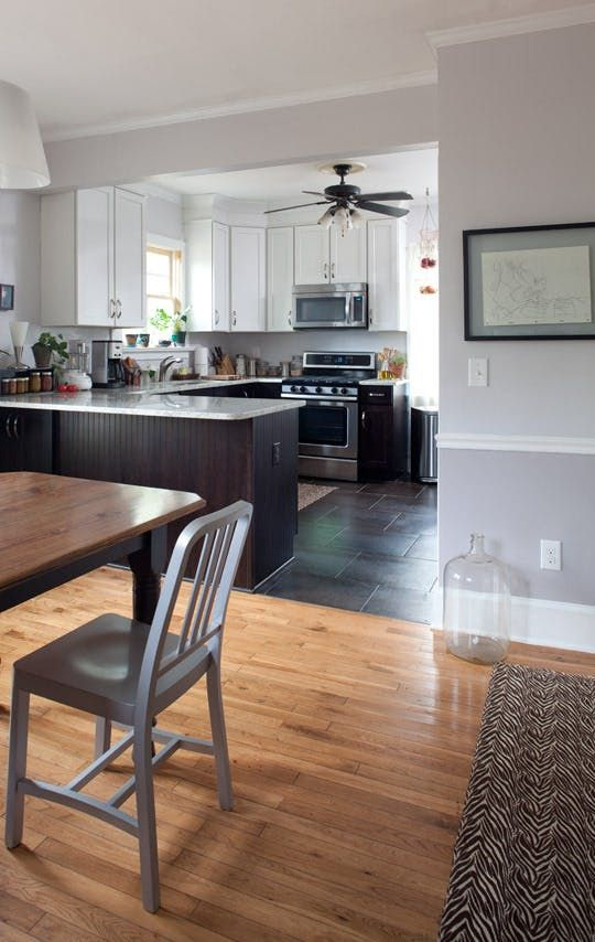 Erin's Family-Friendly Atlanta Kitchen | U shaped kitchen ...