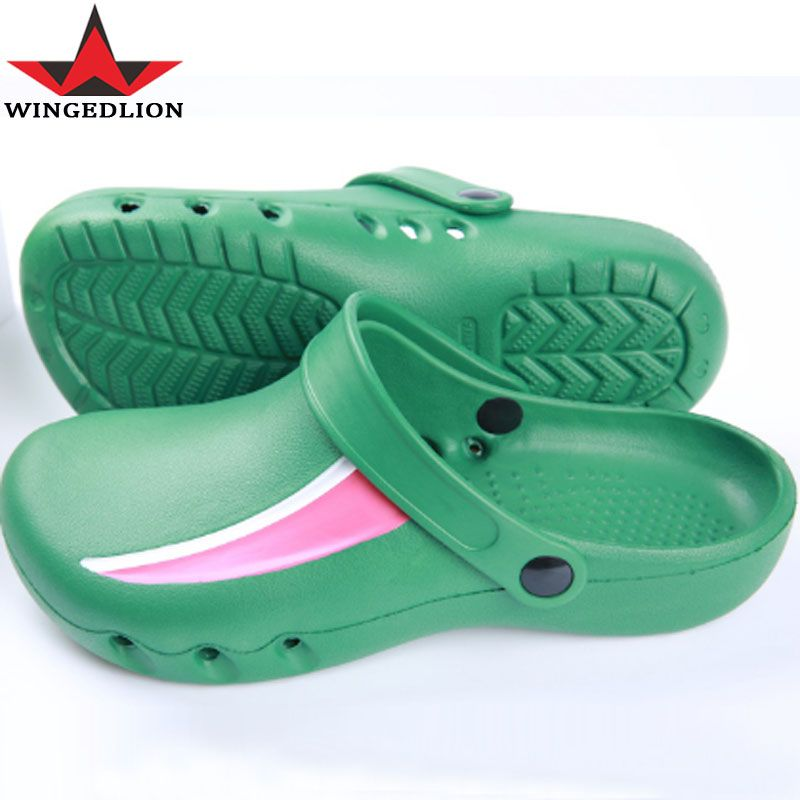 CoolFar Chef sandals, doctors operating room slippers,non-slip ...