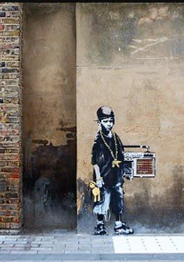 Banksy - in London