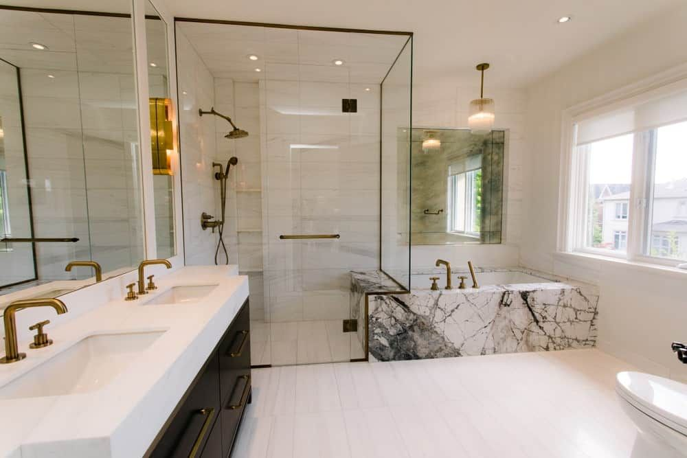 What Is The Average Size Of Bathrooms In The Usa Guess What We Know Bathroom Renovations Bathroom Interior Bathroom Design