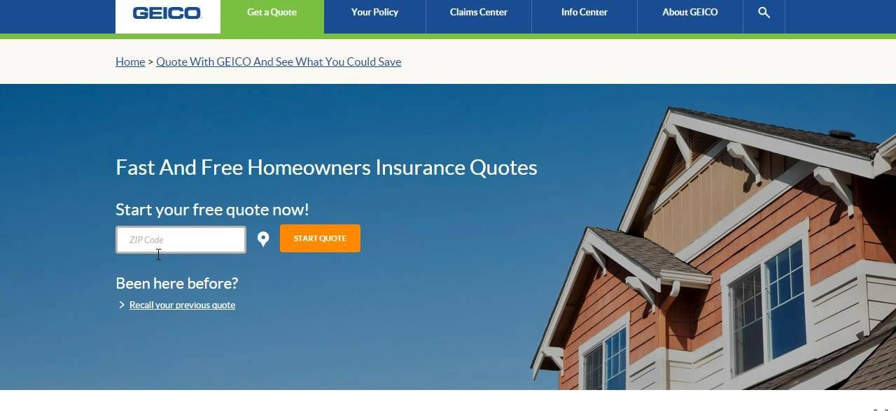 Geico Home Insurance Quote Buying Home Insurance For The First Time  Home Insurance  Pinterest